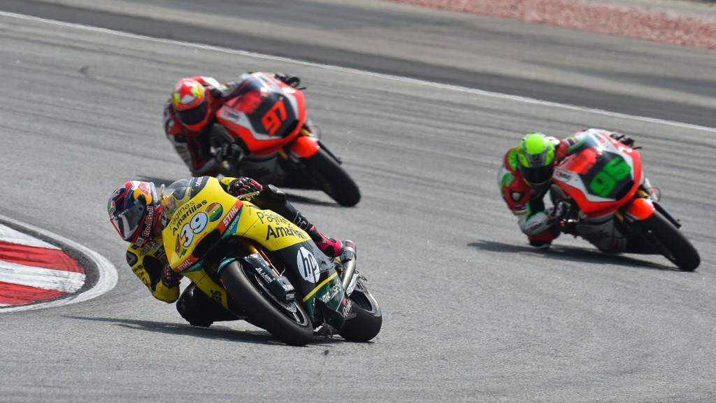 Luis Salom, Paginas Amarillas HP 40, MAL RACE