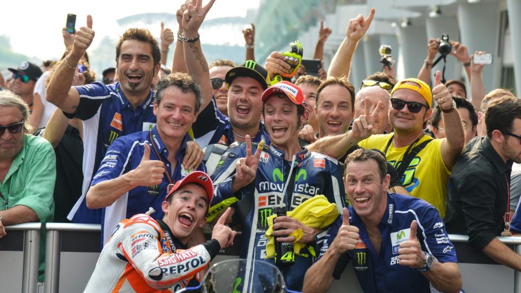 Marc Marquez, Valentino Rossi, Repsol Honda Team, Movistar Yamaha MotoGP, MAL