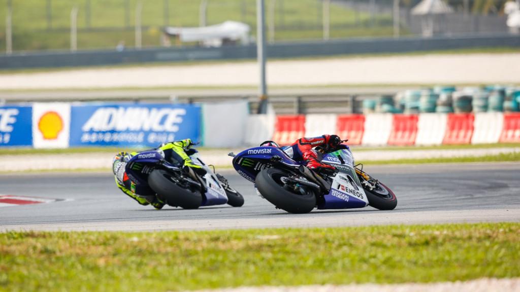 Jorge Lorenzo, Valentino Rossi, Movistar Yamaha MotoGP, MAL RACE