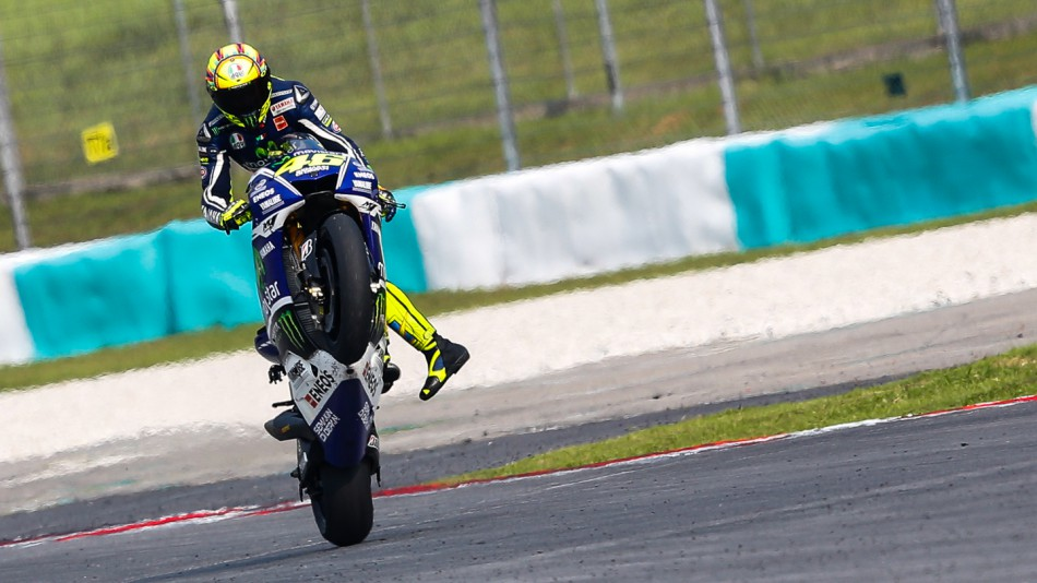 Podium di Sepang, Rossi Fokus Kejar Runner Up