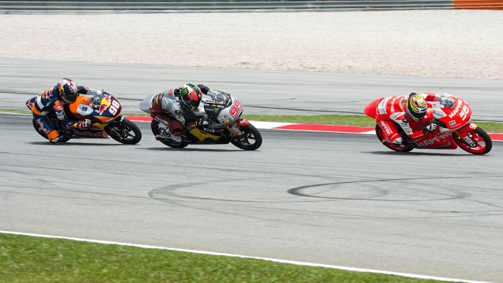 Juanfran Guevara, Mapfre Aspar Team Moto3, MAL RACE