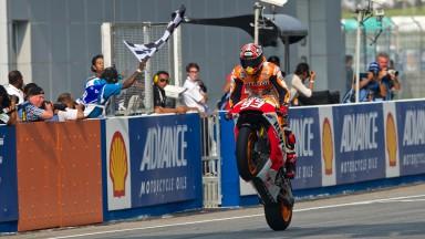 Marc Marquez, Repsol Honda Team, MAL RACE