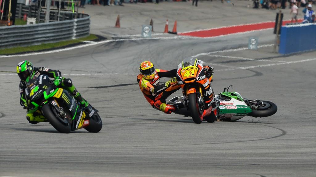 Alvaro Bautista, Aleix Espargaro, GO&FUN Honda Gresini, NGM Forward Racing, MAL RACE