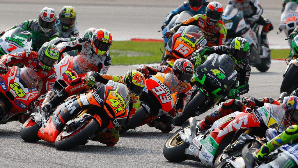 MotoGP Race start, MAL RACE