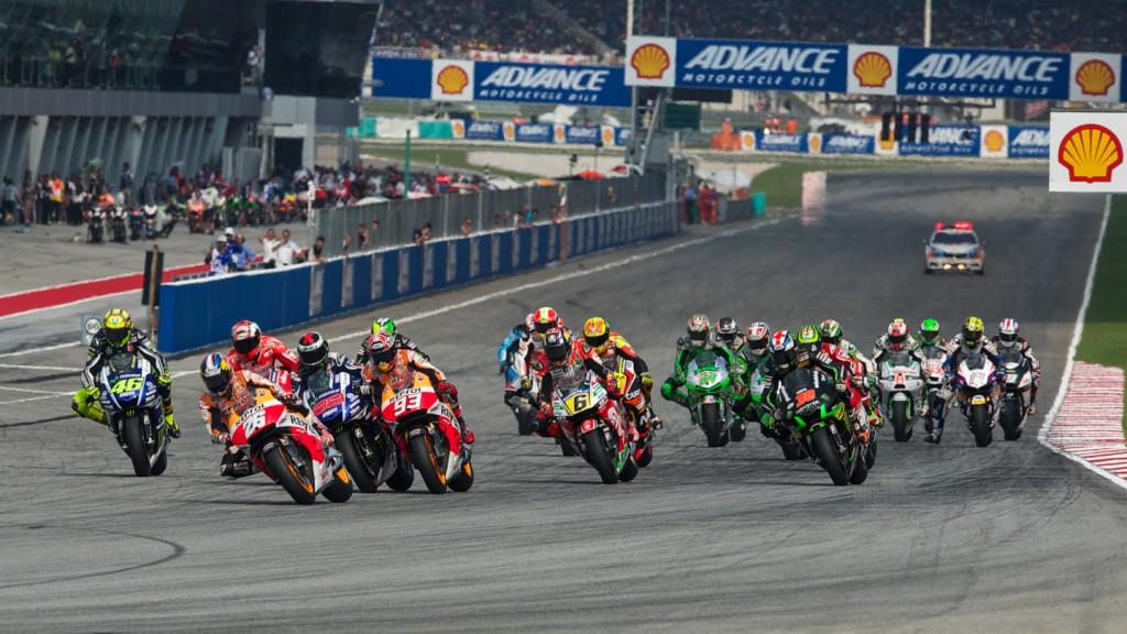Race Start, MAL RACE