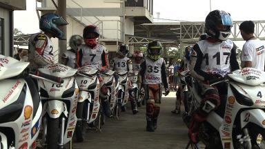 Day 2 of the 2015 Shell Advance Asia Talent Cup Selection Event