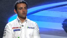 Barbera on 2014 season and switch to Ducati