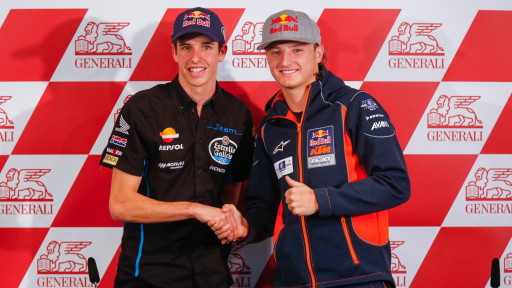 Alex Marquez, Jack Miller, Estrella Galicia 0,0, Red Bull KTM Ajo, VAL