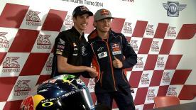 Gran Premio Generali de la Comunitat Valenciana: Moto3 Pre-event Press Conference