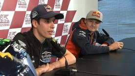 Marquez and Miller preview Valencia title battle