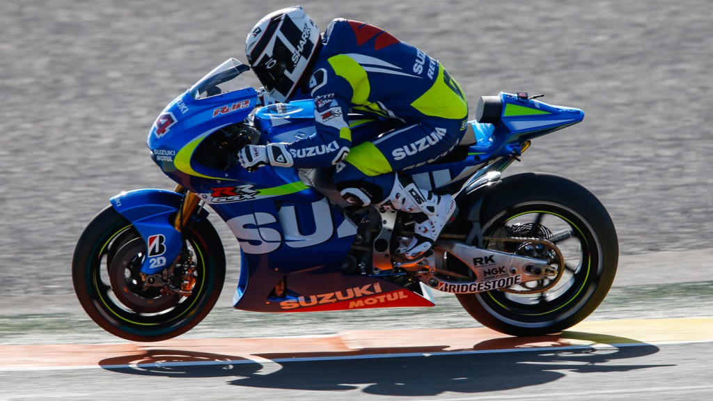 Randy De Puniet, Team Suzuki MotoGP, FP1 VAL