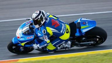 Randy De Puniet, Team Suzuki MotoGP, VAL FP2