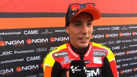 Things go well on first day for Aleix Espargaro