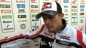 Valencia 2014 - MotoGP - FP2 - Interview - Stefan Bradl