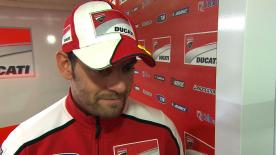 Crutchlow commences final weekend with Ducati