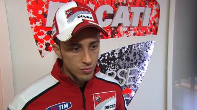 Dovizioso on improving and adapting to Valencia layout