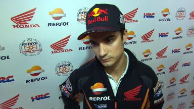 Pedrosa on first day's work and focus at Valencia