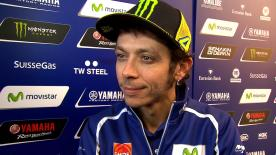 Rossi on tyre choice and tactics for final round