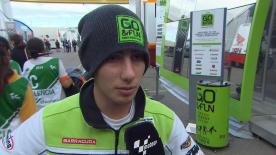 Valencia 2014 - Moto3 - FP2 - Interview - Niccolò Antonelli