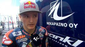 Valencia 2014 - Moto3 - FP2 - Interview - Jack Miller