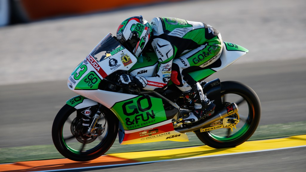 Enea Bastianini, Junior Team GO&FUN Moto3, VAL FP2