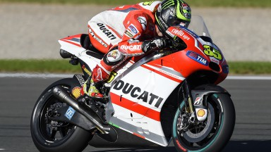 Cal Crutchlow, Ducati Team, VAL FP2