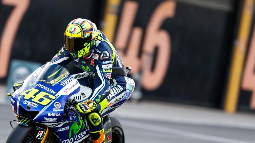 Valentino Rossi, Movistar Yamaha MotoGP, VAL FP2