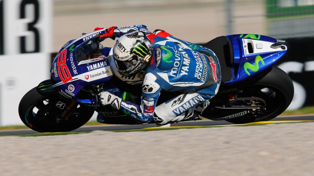 Jorge Lorenzo, Movistar Yamaha MotoGP, VAL FP2