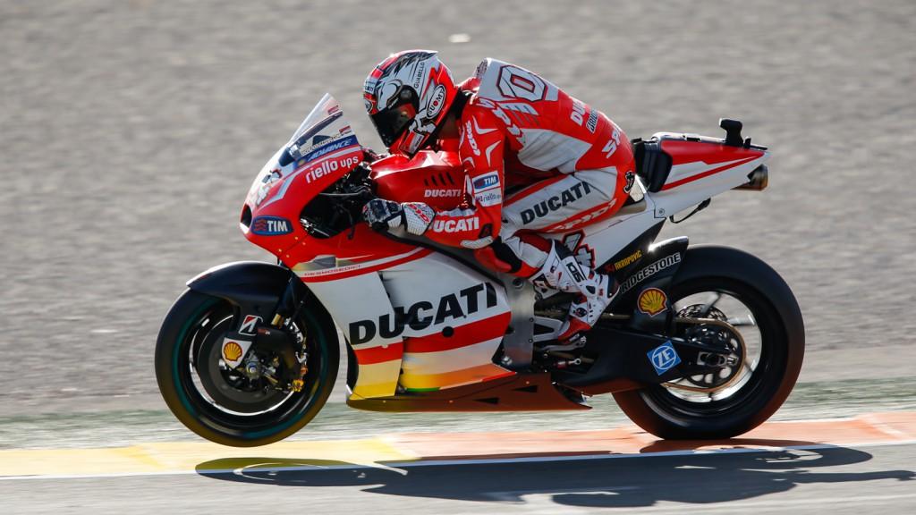 Andrea Dovizioso, Ducati Team, VAL Q2