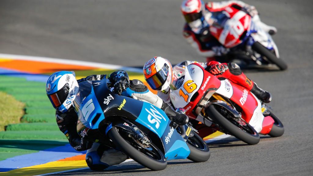 Romano Fenati, Andrea Migno, SKY Racing Team VR46, Mahindra Racing, VAL QP