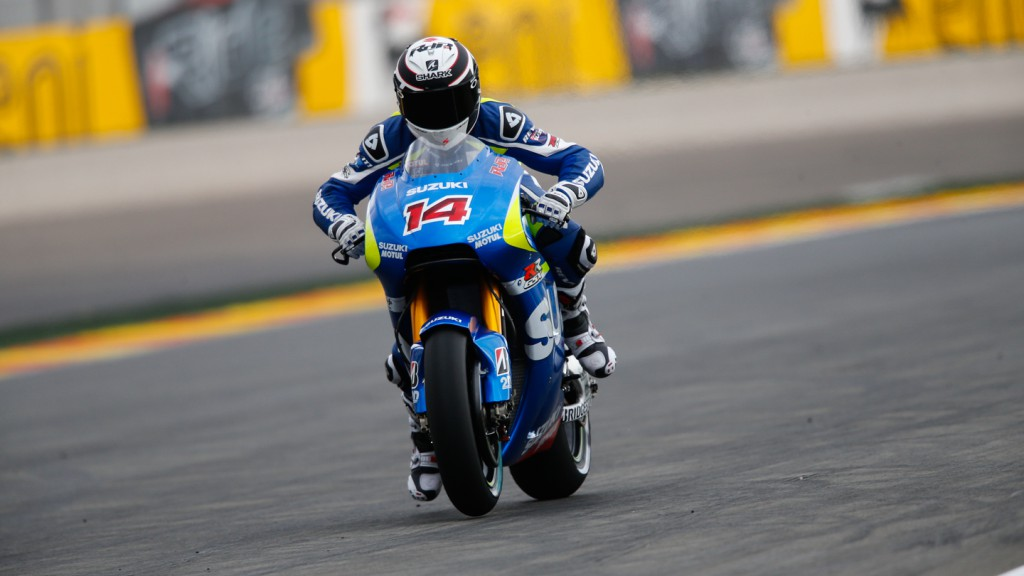 Randy De Puniet, Team Suzuki MotoGP, VAL Q1