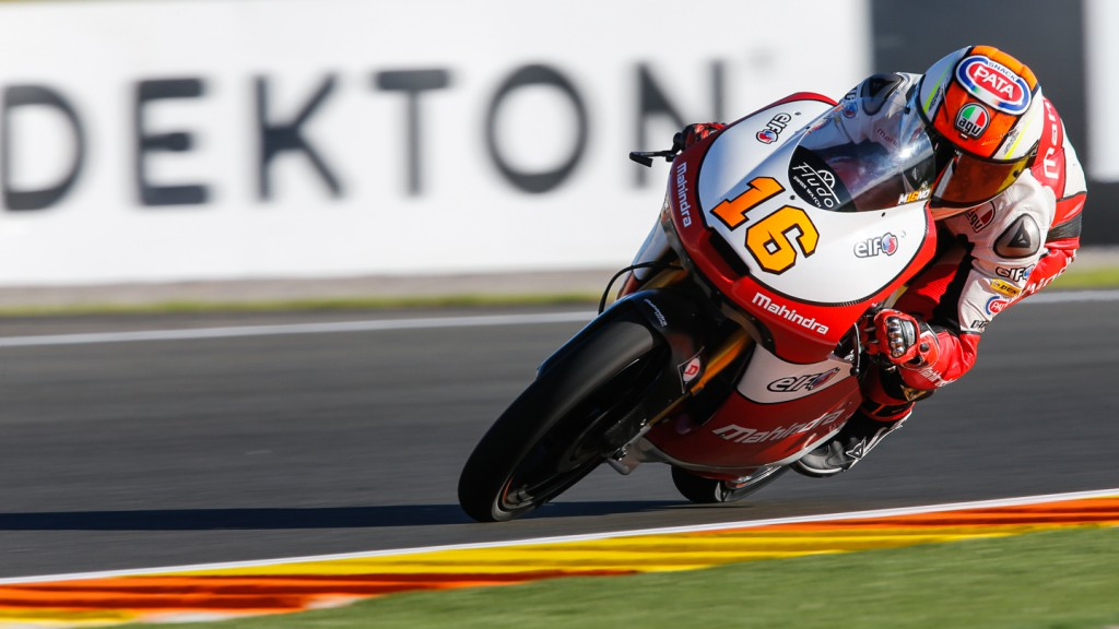 Andrea Migno, Mahindra Racing, VAL QP