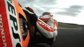 Valencia 2014 - MotoGP - FP3 - Action - Marc Marquez - Crash