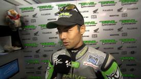Valencia 2014 - MotoGP - Q1 - Interview - Hiroshi Aoyama