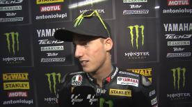 Pol Espargaro on qualifying performance at windy Valencia