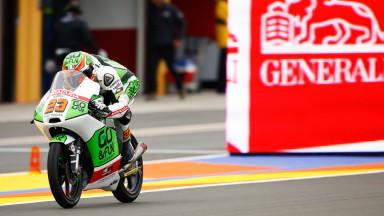 Niccolò Antonelli, Junior Team GO&FUN Moto3, VAL QP