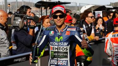 Valentino Rossi, Movistar Yamaha MotoGP, VAL Q2
