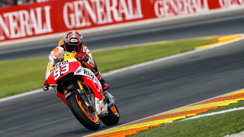 Marc Marquez, Repsol Honda Team, VAL Q2