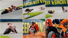 Marc Marquez, Repsol Honda Team, VAL FP3 © Copyright Oscar J. Barroso /AFP