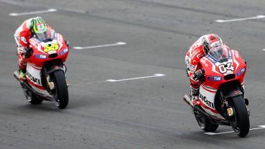 Cal Crutchlow, Andrea Dovizioso, Ducati Team, VAL RACE