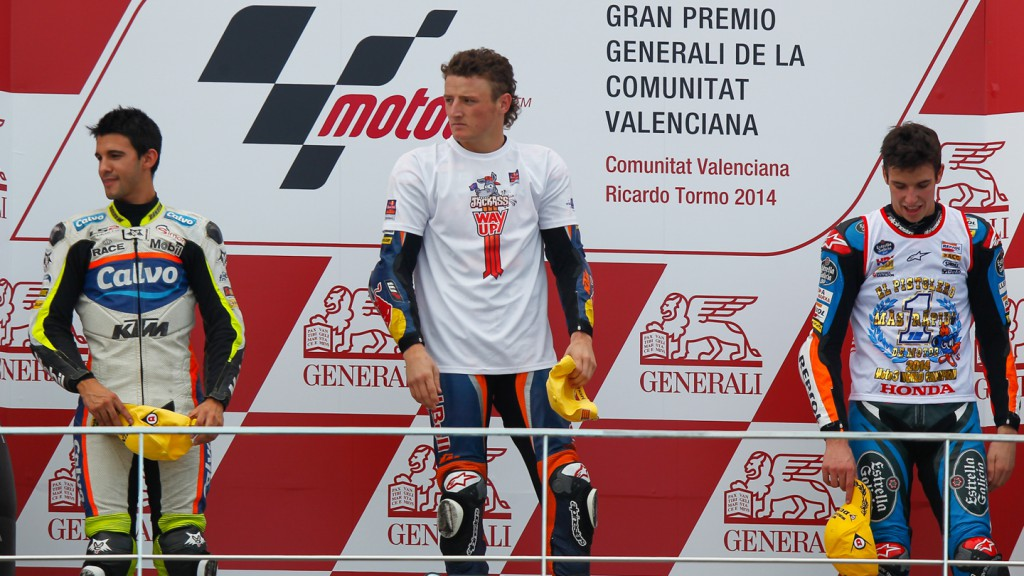 Podium Moto3, VAL RACE