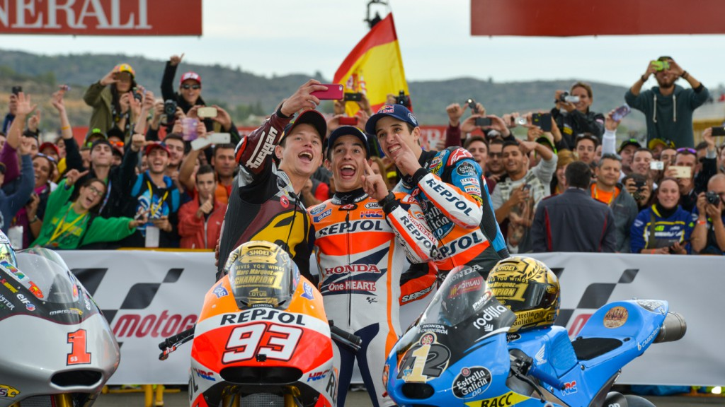 2014 World Champions Rabat, Marquez & Marquez
