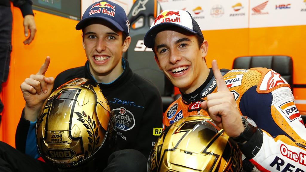 Alex Marquez & Marc Marquez World Champions