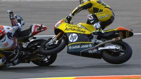 Valencia 2014 - Moto2 - RACE - Action - Mika Kallio - Maverick Viñales - Crash