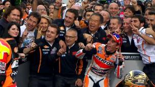 MotoGP Valencia Race Marquez