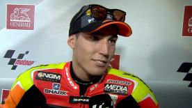 Aleix Espargaro happy with last race on Forward Yamaha