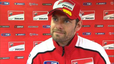 Crutchlow thanks Ducati for hard work all year