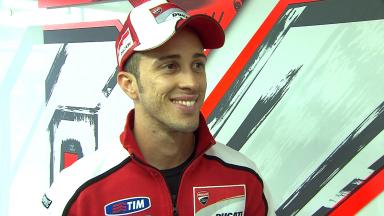 Dovizioso on clean battle with Crutchlow and solid result