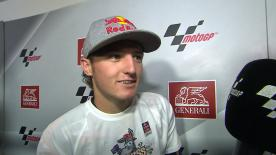 Valencia 2014 - Moto3 - RACE - Interview - Jack Miller