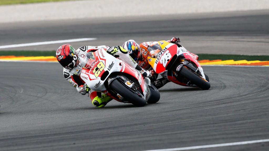Andrea Iannone, Dani Pedrosa, Pramac Racing, Repsol Honda Team, VAL RACE